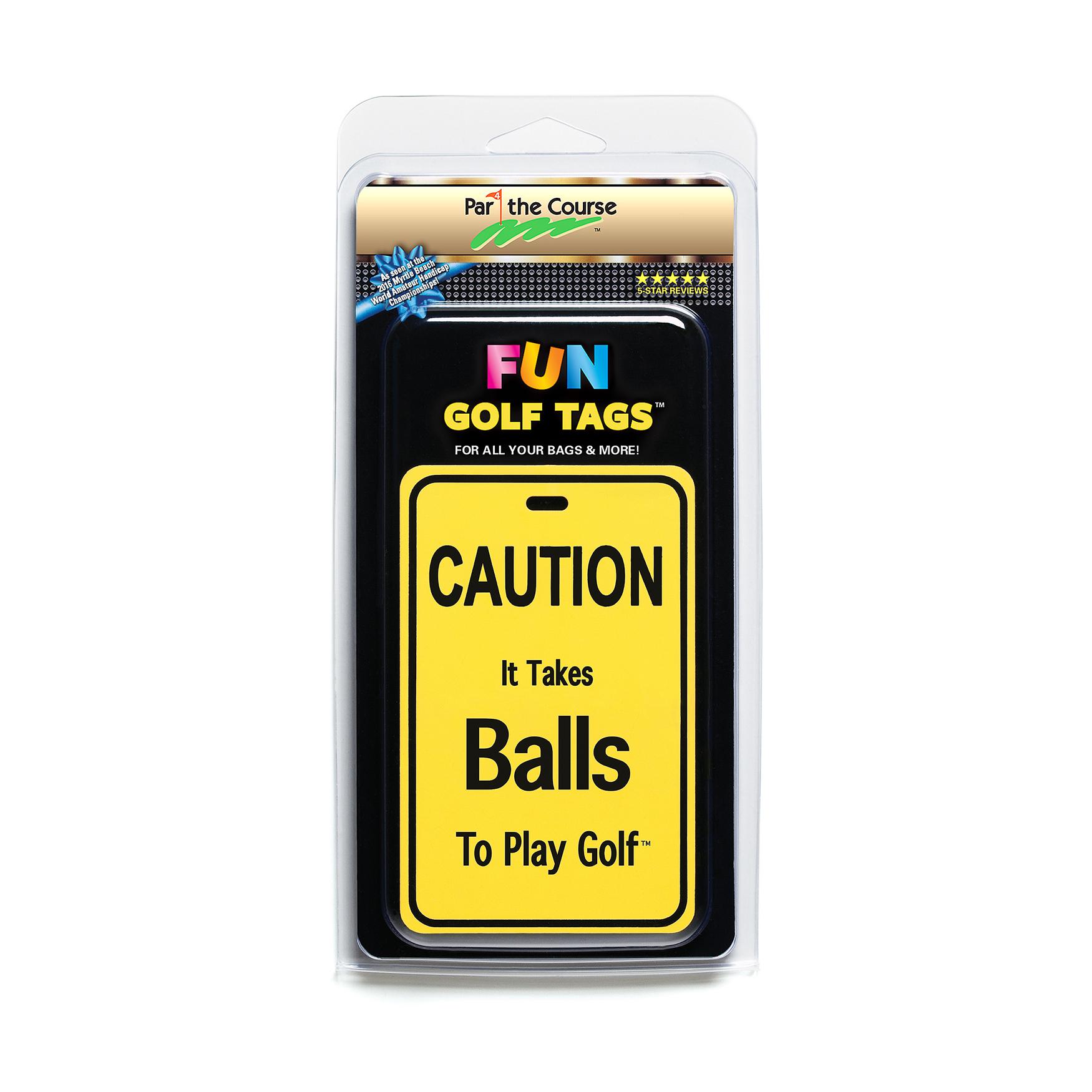 Fun Golf Tags