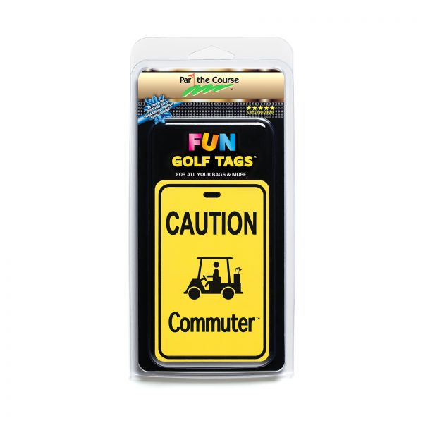 CAUTION: Commuter - Gift / Promotion / Golf Tag