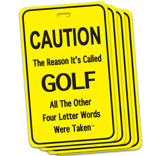 The Foursome: Four Golf Tag Discount Pack