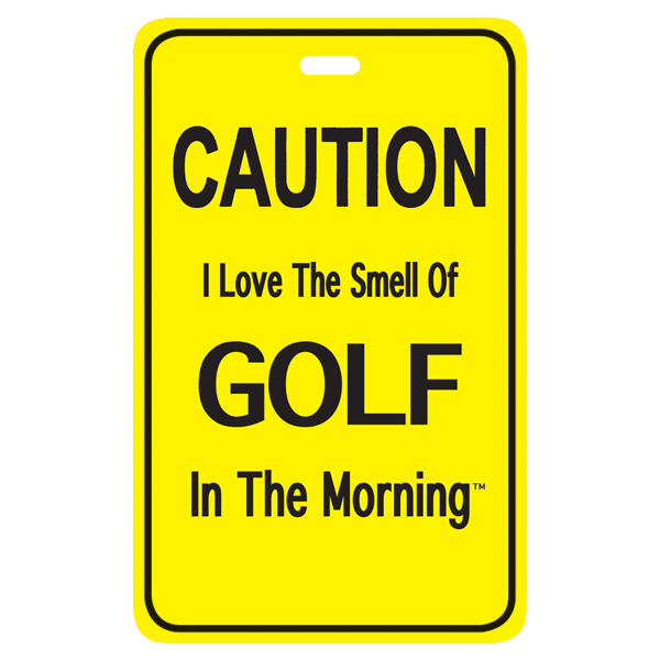 I love the smell of golf in the morning