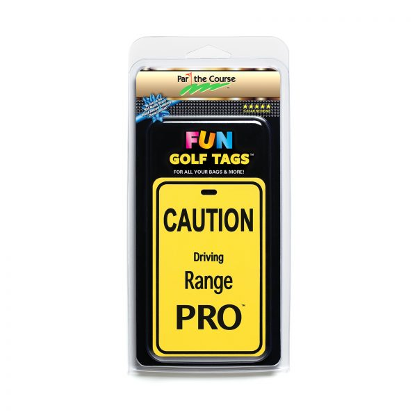 CAUTION: Driving Range Pro Golf Tag