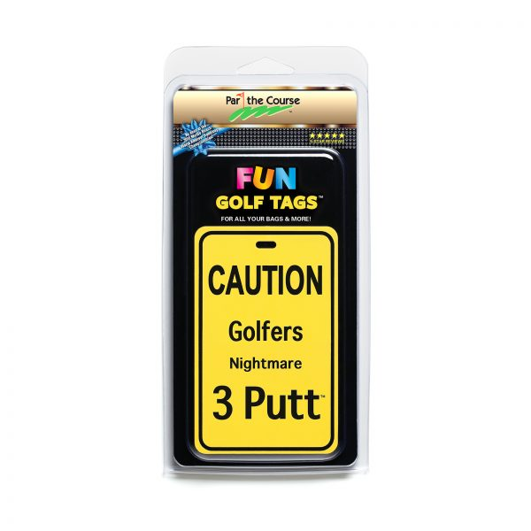 CAUTION: Golfers Nightmare Golf Tag