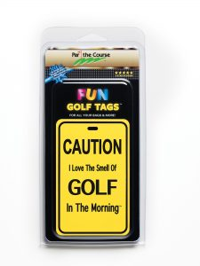 Golf Tag Packaging Front