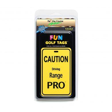 CAUTION: Driving Range Pro Golf Tag